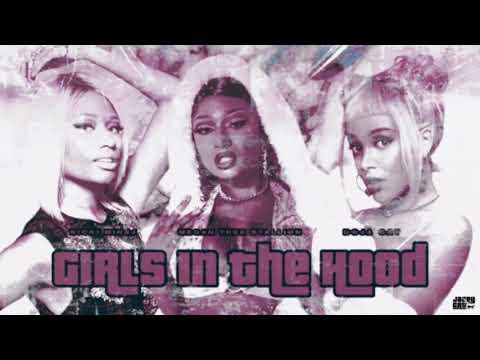 Megan Thee Stallion – Girls in the Hood (ft. Doja Cat & Nicki Minaj) [MASHUP]