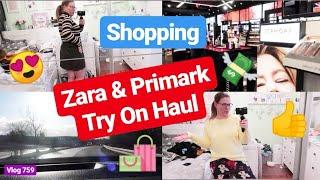 Try on der letzten Hauls! Zara & Primark l Shopping & Dyson gekauft! l Vlog 759