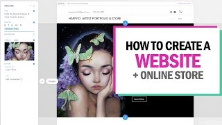 HOW TO MAKE A WEBSITE + ONLINE STORE (in 15 minutes!)