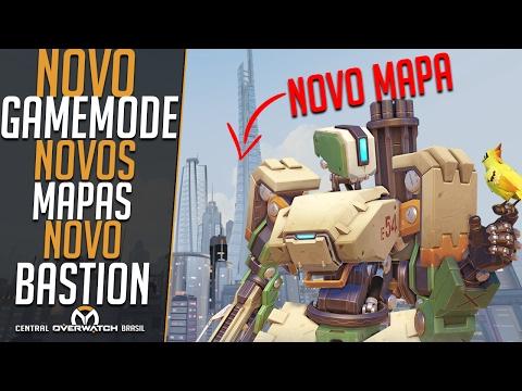 NOVO GAMEMODE, NOVOS MAPAS, NOVO BASTION! - Notas da Atualização - Central Overwatch Brasil