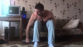 Как накачать плечи дома   задний пучок дельт