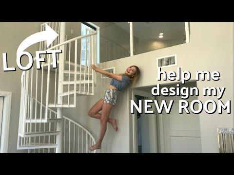 Help Me Design My NEW ROOM! Part 2! | Sasha Morga