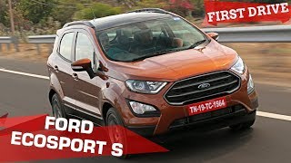 Ford EcoSport S EcoBoost Review | 5 Things To Know |  ZigWheels.com