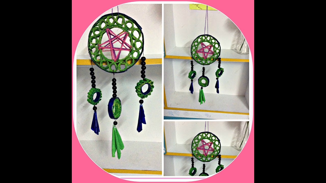 How Are Dream Catchers Made 💭 DIY DREAM CATCHER made of RECYCLED PAPER 💭 💭 💭 YouTube 29
