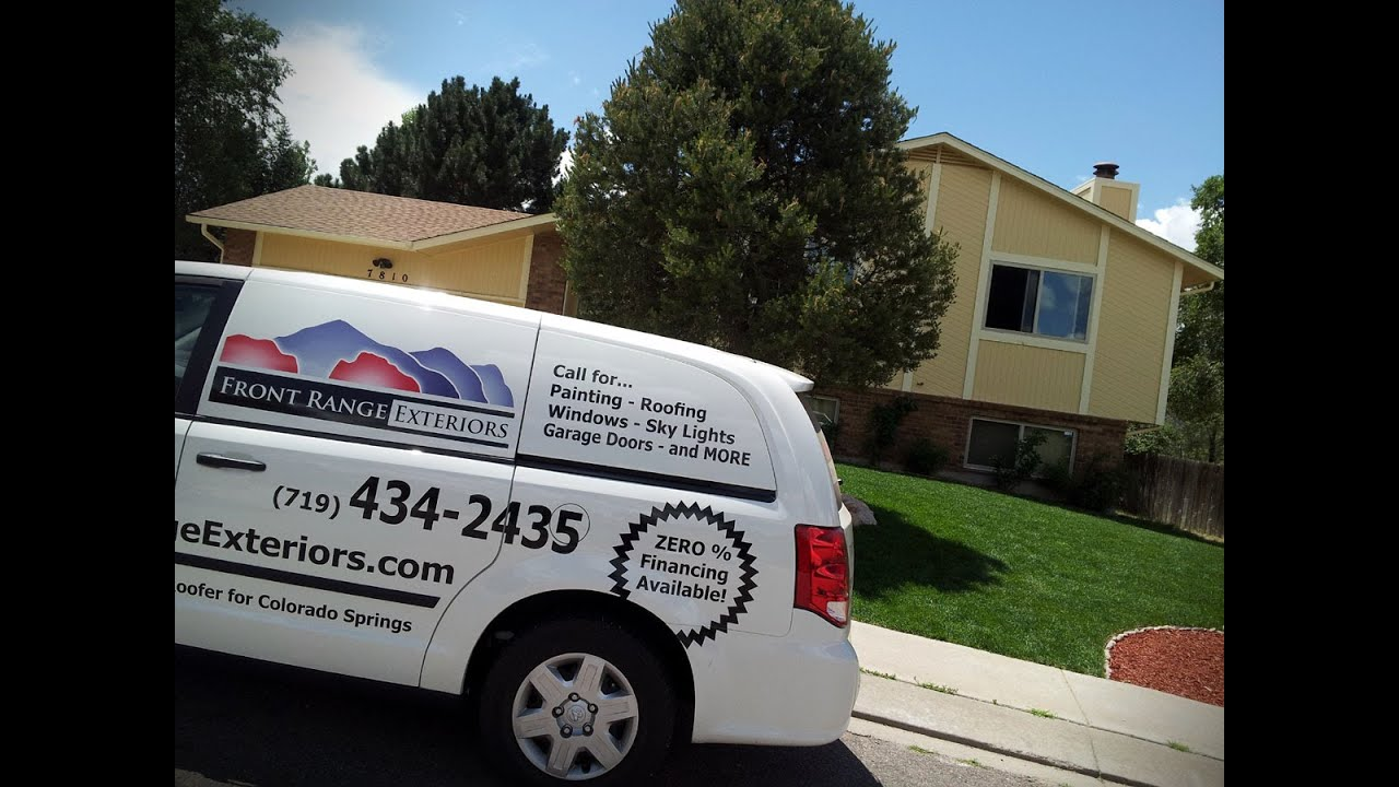 Front Range Exteriors   Interior Exterior House Painting In Colorado Springs  Monument