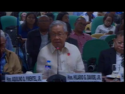 Committee on Constitutional Amendments and Revision of Codes (January 17, 2018)