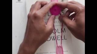 DIY Crafts: Button Bookmark