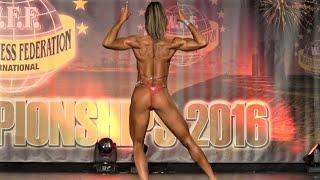 Elvina Vizbaraite – Competitor No 58 – Women  Athletic - WFF World Championship 2016