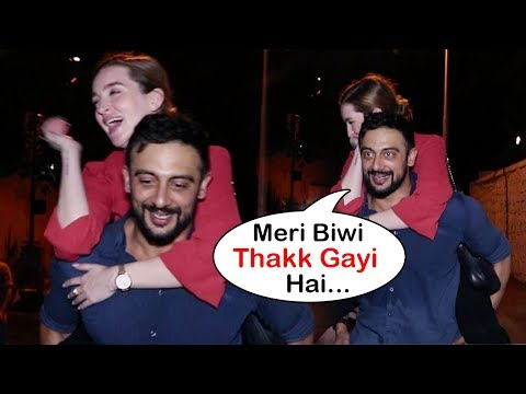 Arunoday Singh DRUNK With His Wife Lee Elton