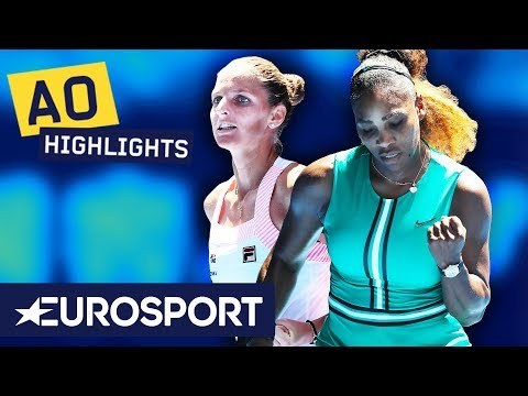 Serena Williams vs Karolína Plíšková Highlights | Australian Open 2019 Quarter-Finals