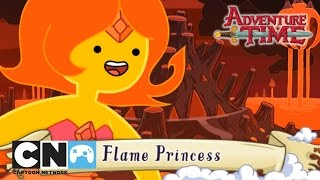 Flame Princess - Adventure Time Collection Playthrough | Game | Cartoon Network