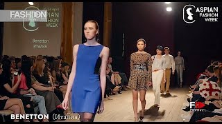 BENETTON Caspian Fashion Week 5th Season - Fashion Channel