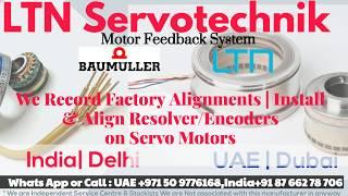 Baumuller Resolver install Adjust Align LTN India - Delhi, UAE Dubai Stock.