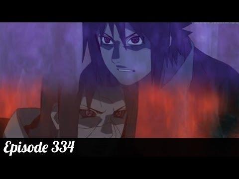 Review Naruto shippuden Episode 334| la fraternité Uchiha au combat!