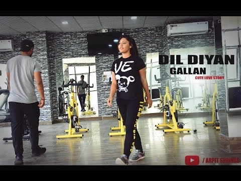 Dil Diyan Gallan   Cute Love Story   Tiger Zinda Hai   Salman Khan , Katrina    Latest Song   2017