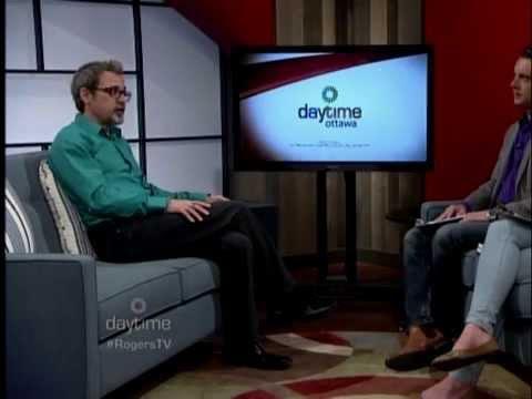 Daytime Ottawa TV - Derek Fage & Danielle Allard Interview Michel Weatherall (Nov 20/15)