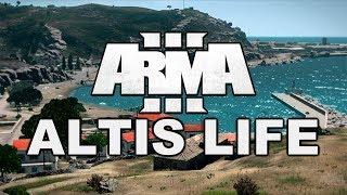 Один из первых серверов Arma 3 Altis Life: Ностальгия!