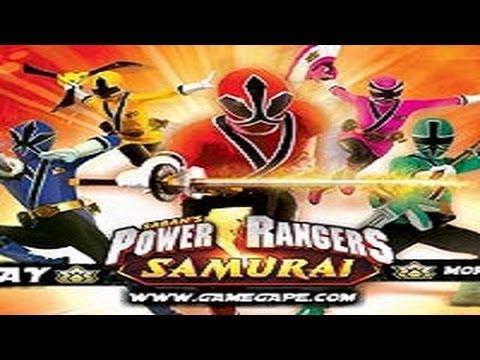 Игры Рейнджеры. Игры Могучие Рейнджеры самураи