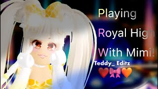 Playing Roblox With Mimi! (link in desc)