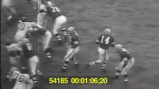 1955 Giants vs Cleveland WK10 highlights