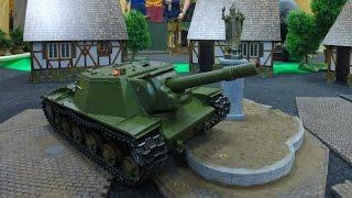 Танковый Бой на Радиоуправлении...Вид из Танка