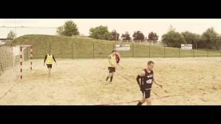 Sun. Sand. Beach handball. #05 Defense - blocking the shot / Obrona - gra blokiem