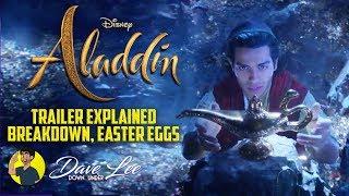 Disney's ALADDIN - Teaser Trailer EXPLAINED, BREAKDOWN, EASTER EGGS, THINGS YOU MISSED