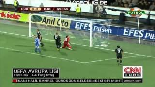 Helsinki 0-4 Besiktas