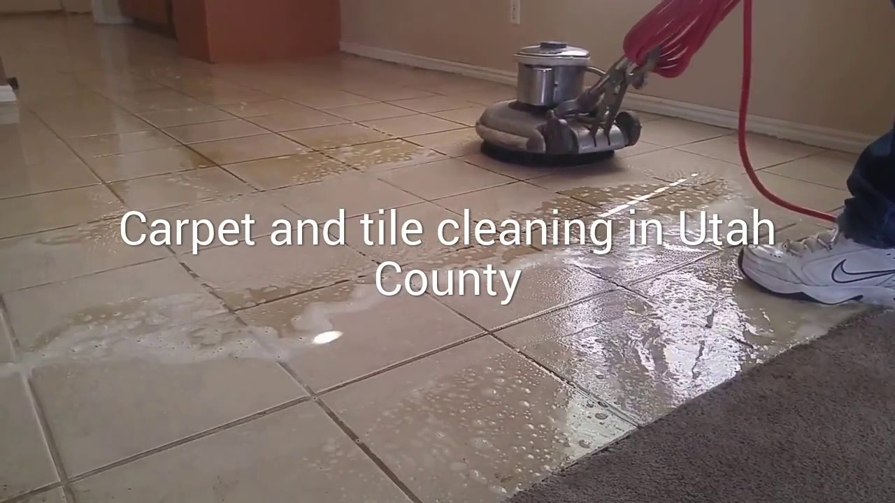 Carpet And Tile Cleaning In Utah County