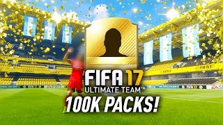 FIFA 17 100K PACKS! AWESOME NEW WALK OUT ANIMATION!