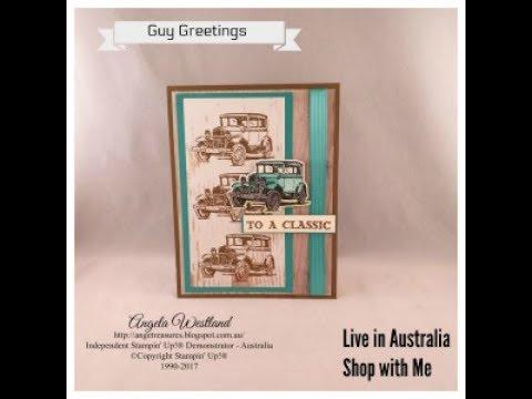 Guy Greetings - Male Card