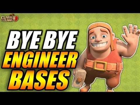BALANCE CHANGE: NO MORE ENGINEER BASES IN CLASH OF CLANS