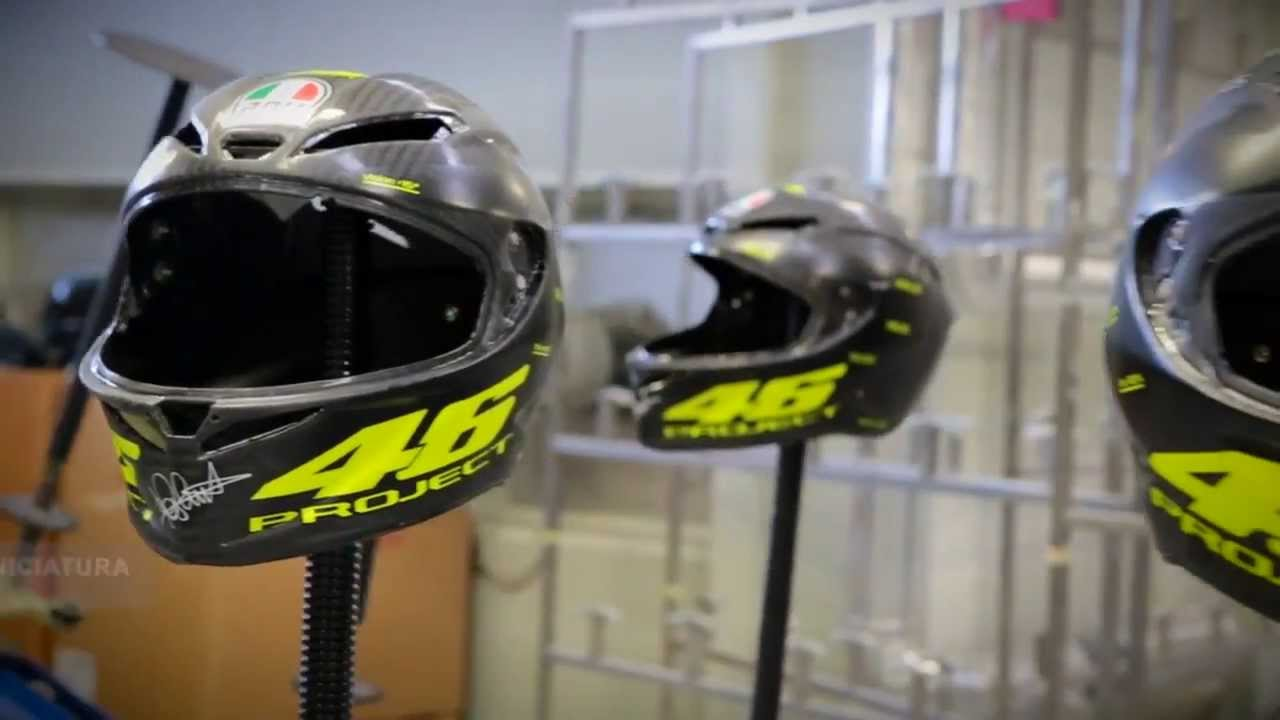 Oram Presenta Agv Pista Gp Carbon Project 46 How Is Made Youtube