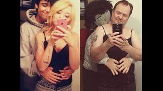 Parents  copying selfies