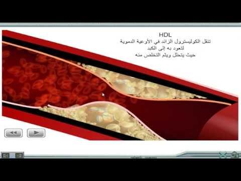 الكوليسترول  HDL - LDL