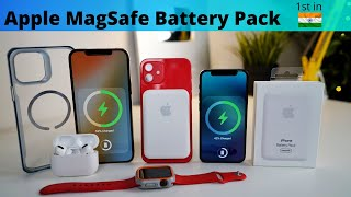 Apple MagSafe Battery Pack in-Depth look | MagSafe Battery Pack India Unboxing