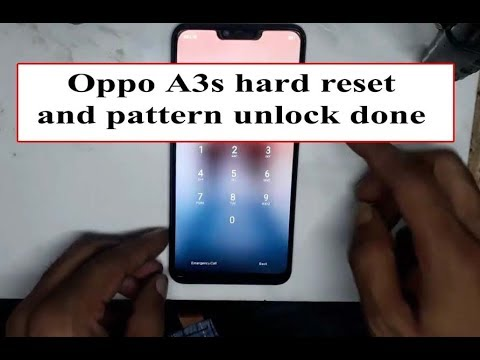 how to Oppo A3s CPH1803 hard reset and pattern unlock done by easy mobile  repair all work