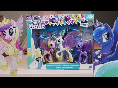 My Little Pony The Movie Princess Parade Friendship Festival Exclusive From Toys R Us