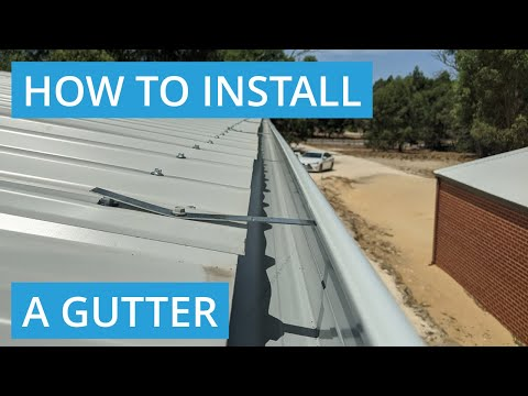 how-to-install-gutters-on-a-metal-roof