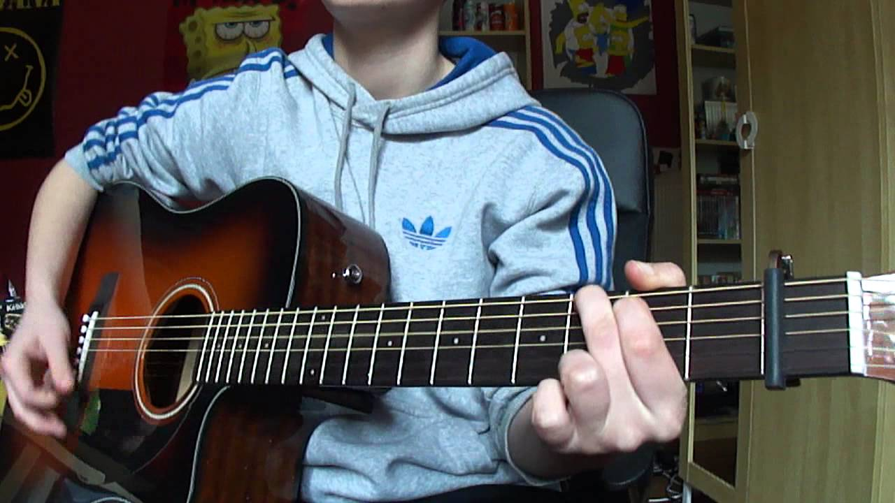 One Direction Rock Me Acoustic Guitar Cover Youtube