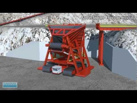 Semi-mobile IPCC Concept From Sandvik Mining Systems