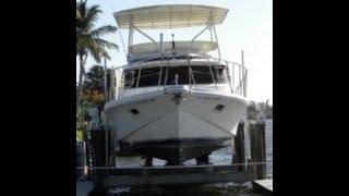 [sold] Used 1985 Bluewater 42 Coastal Cruiser In Vero Beach, Florida