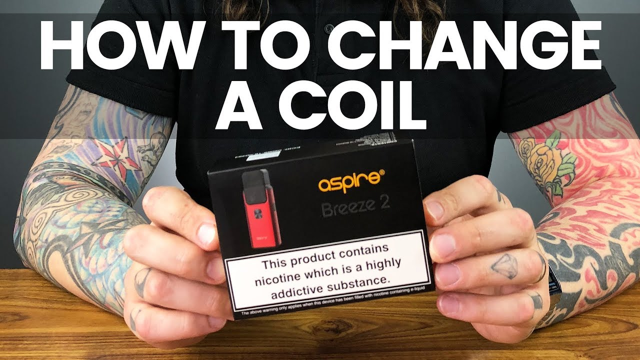 How To Change A Coil | Aspire Breeze 2 Tutorial