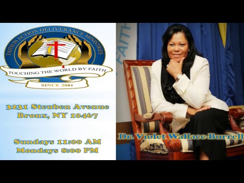 Miracle Monday  FAITH  w/ Dr. Violet Burrell  STAY THE COURSE 