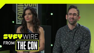 The Curse Of La Llorona Set Was Actually Haunted | SDCC 2018 | SYFY WIRE