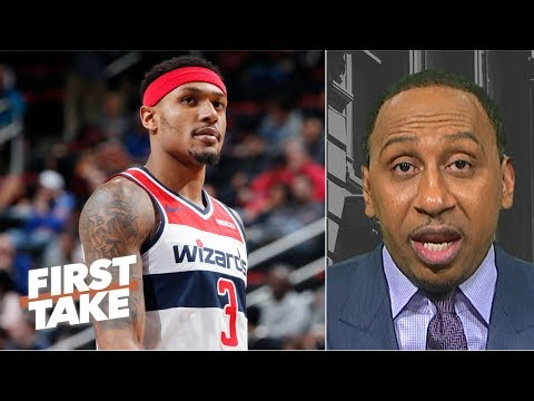 download Bradley Beal can't recruit for Wizards because the 'team stinks' - Stephen A. | First Take