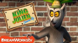 No Funny Business! | KING JULIEN STAND UP