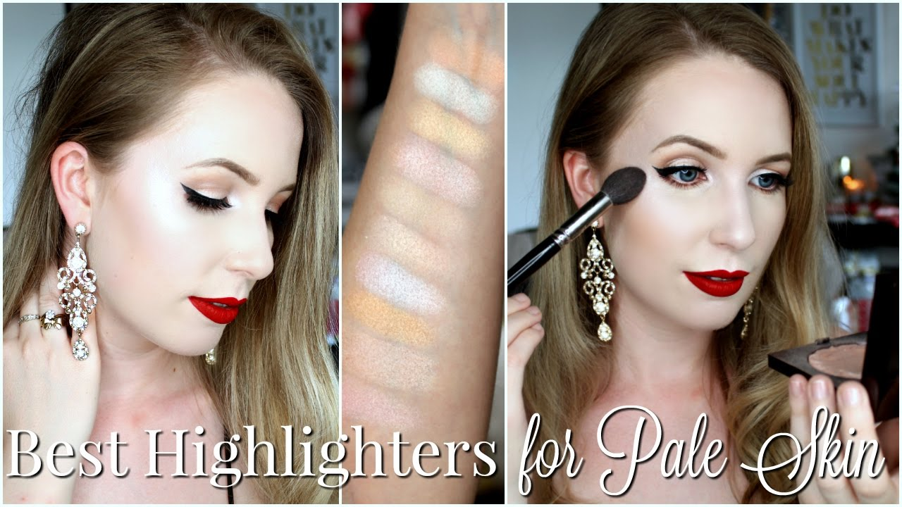 Best Highlighters For Pale Skin YouTube