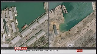 Beirut explosion aftermath & what is Ammonia Nitrate? (Lebanon) - BBC News - 6th August 2020