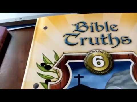 BJU Bible Truths Curriculum for homeschool